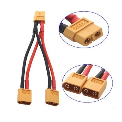 XT60 Konnektörlü Y Tip Birleştirici Kablo