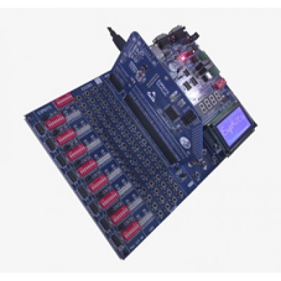 EX33DS + LPC1768 + LCD + GLCD