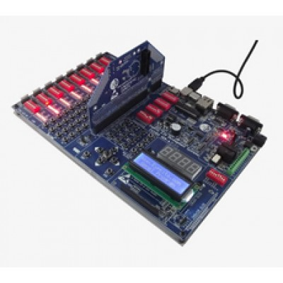 EX33DS + STM32F107 + LCD + GLCD