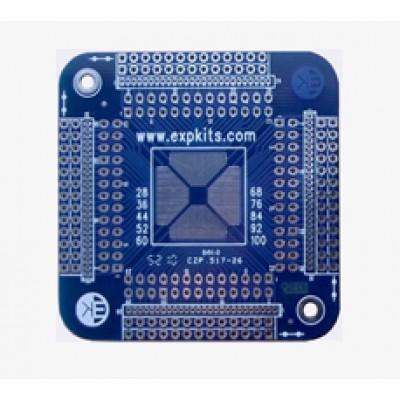 3x 0.5mm Uni. TQFP  PCB