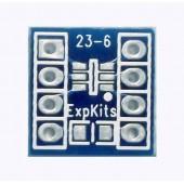 5X SOT23-6 PCB